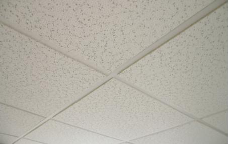 Geluidsdempende plafondtegels